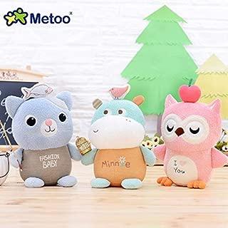 MANGMOC Candice Guo Plush Toy Stuffed Doll Cartoon Animal Cat Kitty Hippo Owl Bird Ted Bear Teddy Birthday 1Pc Cool Must Haves 4 Year Old Gifts My Favourite Superhero Classroom