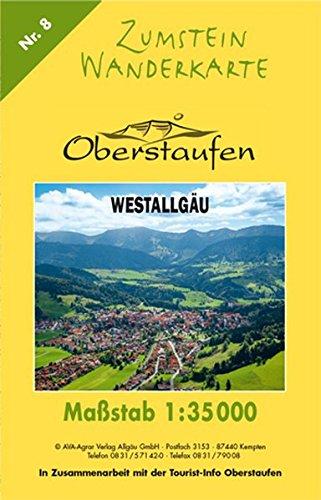 Zumstein Wanderkarte Oberstaufen: 1:35000 (Zumstein Wanderkarten)