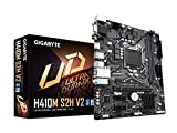 GIGABYTE H410M S2H V2 (LGA 1200/ Intel/ H470/ Micro-ATX/M.2/ SATA 6Gb/s/USB 3.2 Gen 1/ Motherboard)