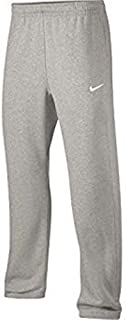 Mens Club Open Hem Swoosh Sweatpants