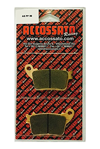 Accossato Bremsbelag agpp39st, Honda > CBR 600FB/FC, 600(2011–2013)