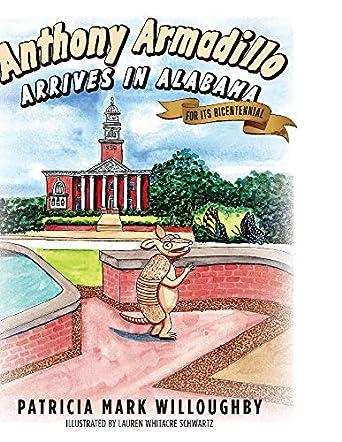Anthony Armadillo Arrives in Alabama