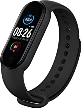 UIEMMY slim horloge Smart Horloge Mannen Vrouwen Hartslagmeter Bloeddruk Fitness Tracker Smart horloge Band 5 Sport Horlog...
