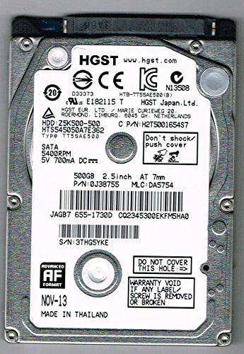 HGST 0J38065 interne Festplatte (6,4 cm (2,5 Zoll), 5400rpm, 8MB Cache, SATA)