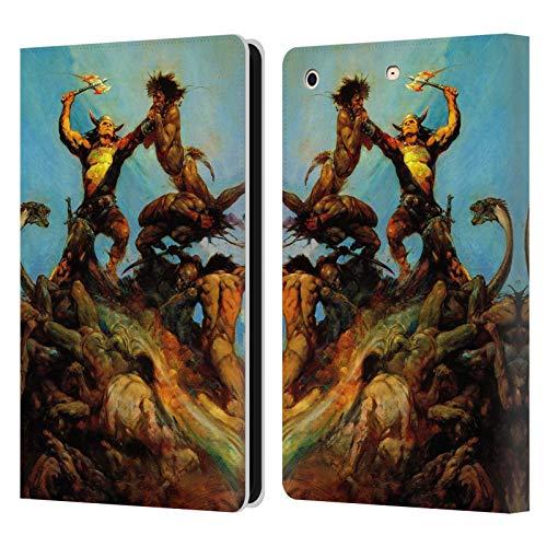 Head Case Designs Officially Licensed Frank Frazetta Indomitable Fantasy Leather Book Wallet Case Cover Compatible with Apple iPad Mini 1 / Mini 2 / Mini 3