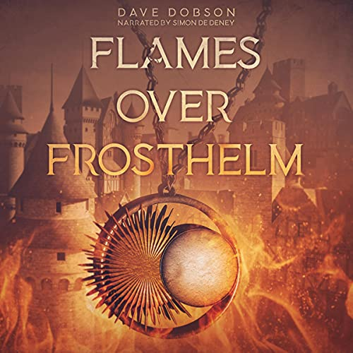 Flames over Frosthelm cover art
