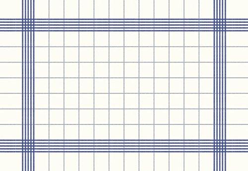 Duni 174022Extragroßes Handtuch Bistro Servietten, 38cm x 54cm, blau (250Stück)