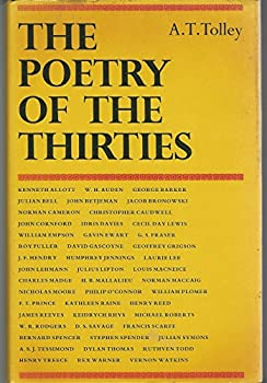 Hardcover The Poetry of the Thirties Book