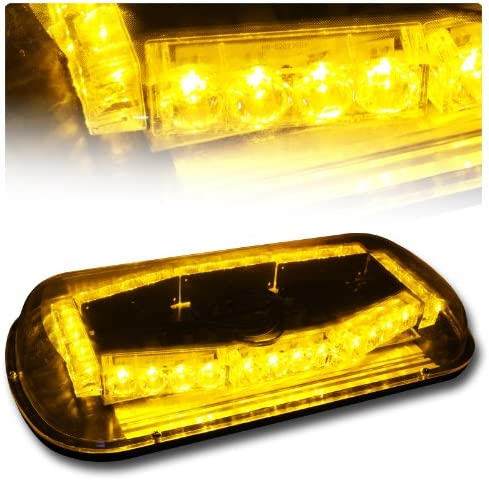 EPARTS 32 Max 89% OFF LED Amber Yellow Roof Emergency Bar Hazard Light Top Japan Maker New H
