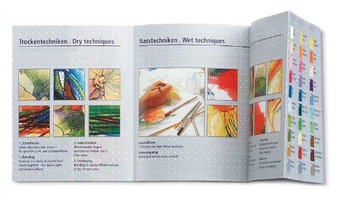 Staedtler Karat Aquarell Premium Watercolor Pencils, Set of 12 Colors (125M12) Photo #9