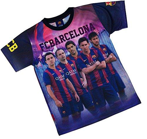 FC Barcelona Trikot Bar?a – Neymar Messi Suarez Xavi Iniesta – Offizielle Kollektion XL