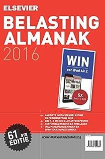 Elsevier belasting almanak 2016 (Dutch Edition)