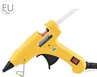 Topker Prostormer 20W Enchufe de la UE Hot Melt Pistola de Pegamento Industrial Mini Guns Thermo Eléctrico Gluegun Herramienta de la Temperatura de Calor Reparación de injertos