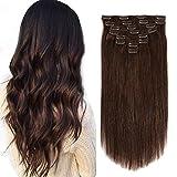 Best Sexybaby Human Hair Extensions - Brazilian Human Hair Clip in Hair Extensions 20inch Review