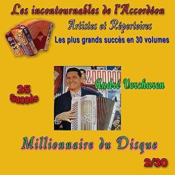 Les incontournables de l'accordéon, vol. 2 (Millionnaire du disque) [25 succès]