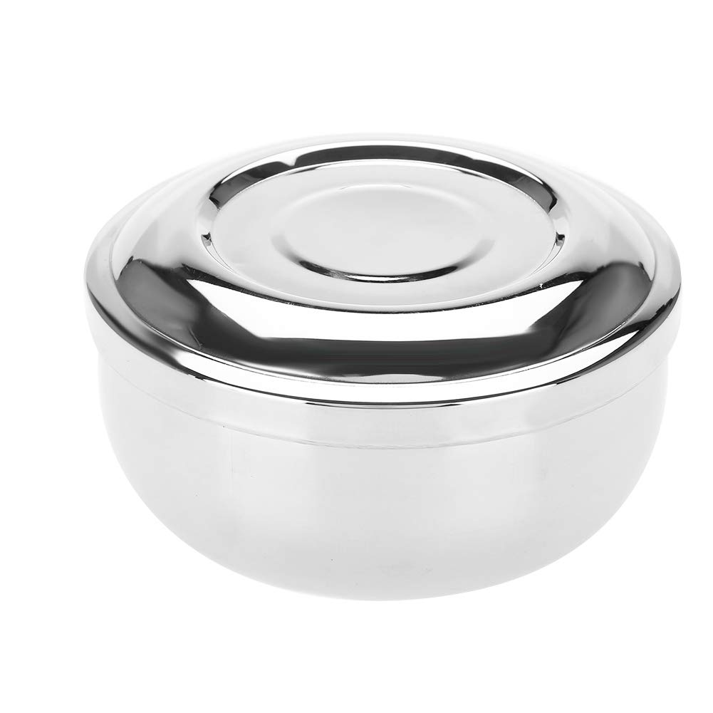 Shaving Bowl with a Louisville-Jefferson County Mall Mirror B Beard Stainless Steel Soap Indefinitely