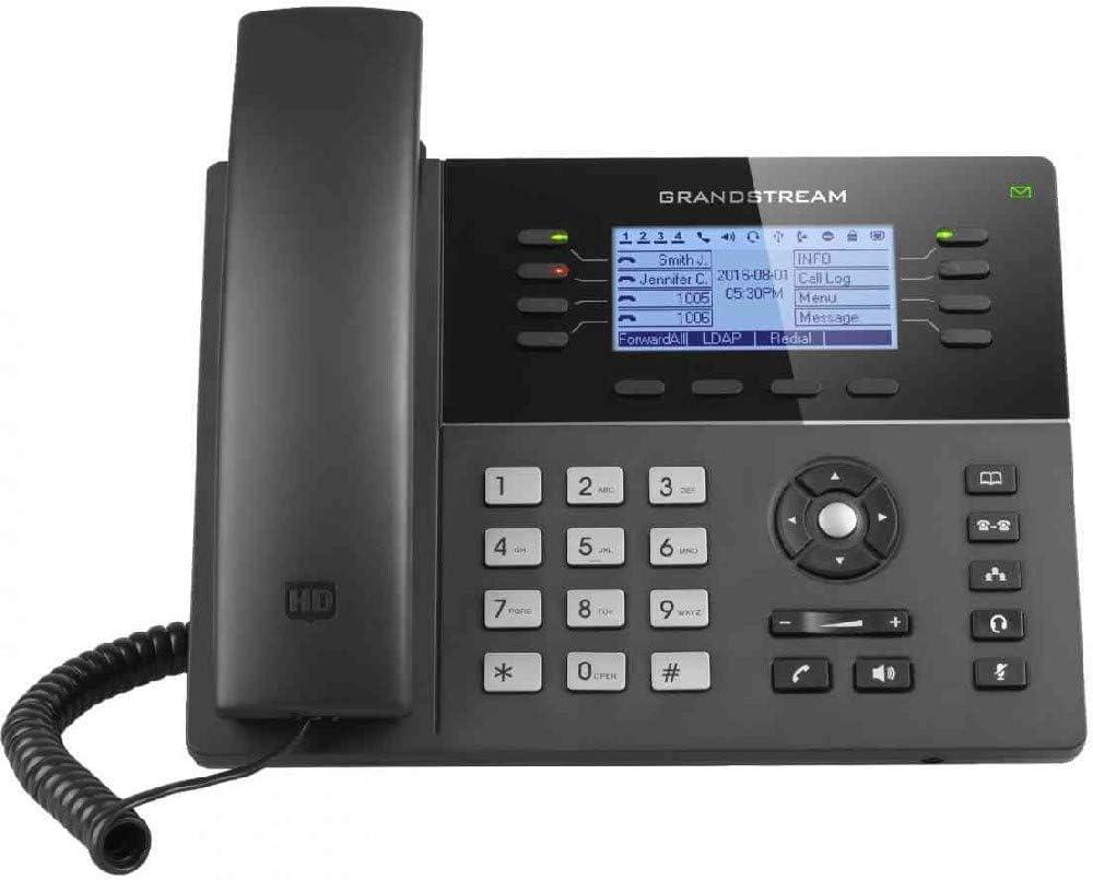 Grandstream Gxp Sip Phone Black Elektronik