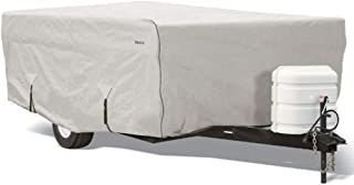 Goldline Pop Up Camper Covers by Eevelle | Waterproof Fabric | Tan and Gray (8-10 Feet, Gray)