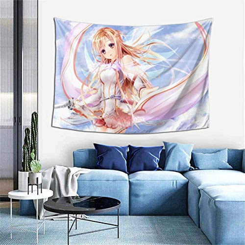 779 LIICOCO Sword Art Online - Tapiz decorativo (60 x 40 cm), diseño de espada