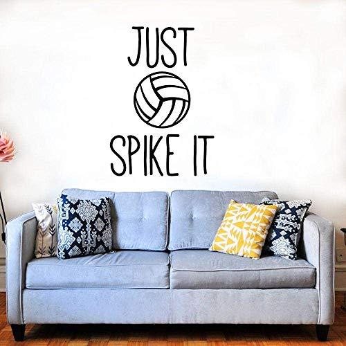 Naklejki ścienne, ruchoma 45 x 57 cm siatkówka ścienna do siatkówki do domu i boiska do siatkówki dekoracja