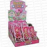Lote de 9 Originales Carritos con Mini Bebé'Baby Car'. Juguetes y Juegos. Golosinas y Dulces. Regalos Originales para Niños y Niñas. Detalles Bodas, Bautizos, Comuniones y Cumpleaños. DS.