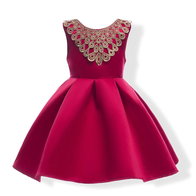 ガールズドレス 女の子ドレス ワンピース プノンペンレース お宮参り 入園式 結婚式 七五三 卒業式