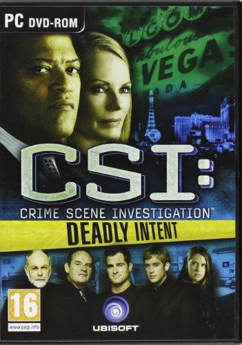 CSI: Crime Scene Investigation - Deadly Intent (PC DVD) [Edizione: Regno Unito]