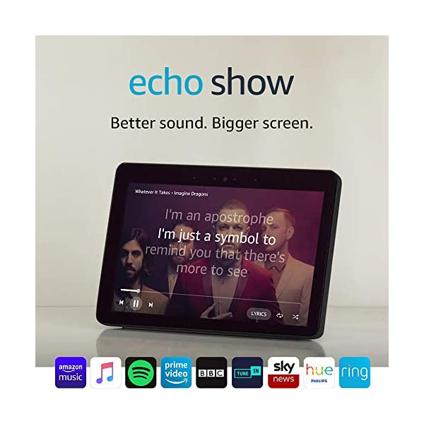 Echo Show (2nd Gen) – Stay in touch with the help of Alexa – Black 7
