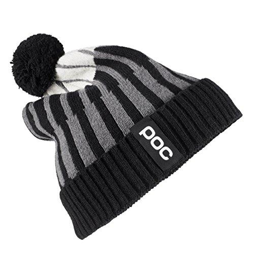 POC Jaquard Knit Beanie, Uranium Multi Black, One Size