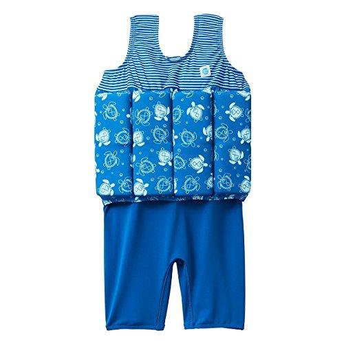 Splash About Kinder Short John Float Anzug, Turtle Mania, 1-2 Jahre, SJFSTM1