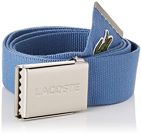 Lacoste Herren RC2012 Gürtel, Blau (Blue Horizon D24) (Hersteller Größe: 110)