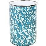 Calypso-Basics-by-Reston-Lloyd-Marble-Enamel-on-Steel-Utensil-Holder-Turquoise