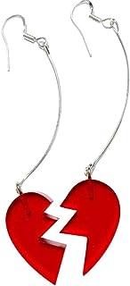 OfficialOtaku JoJo's Bizarre Adventure Jean Pierre Polnareff Earring Cosplay Accessory - Red/Silver