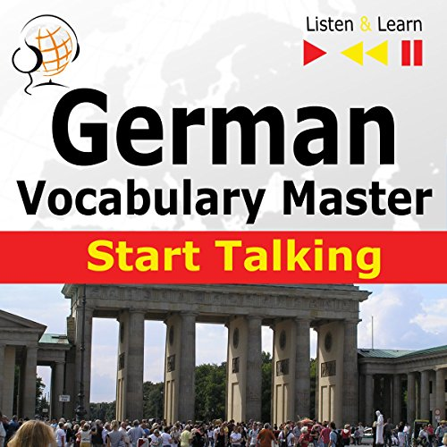 German Start Talking - Vocabulary Master. 30 Topics at Elementary Level A1-A2 cover art