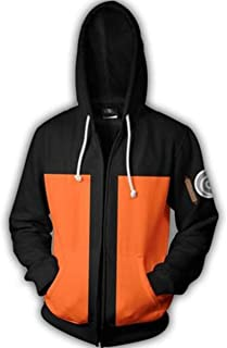 NSOKing Hot Anime 3D Printed Naruto Hero Costume Daily Use Sports Jacket