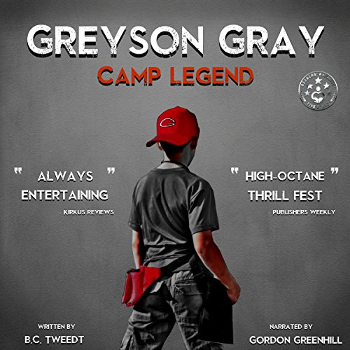 Greyson Gray: Camp Legend cover art