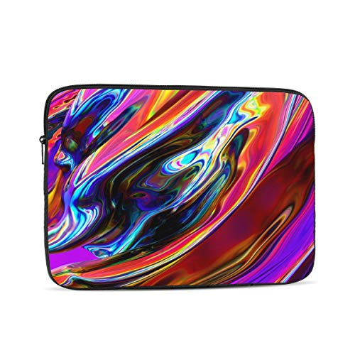 3D Printing Water Resistant Marble 12 Laptop Sleeve Case,17 Inch Laptop Bag for Men, Laptop Bag for Ultrabook