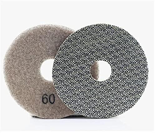 Pulido 4 pulgadas 100 mm almohadilla de pulido electropotécnica remoción rápida de azulejo de vidrio de hormigón de hormigón de piedra que se lija el pulido de metales pulido