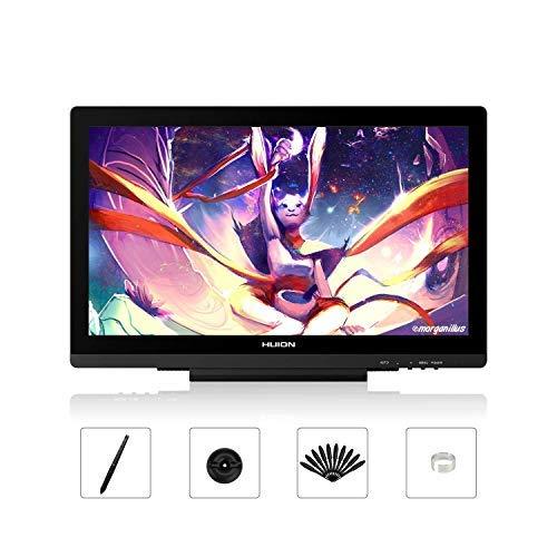 HUION KAMVAS GT-191V2 Tableta Gráfica con lápiz sin Pilas Sensible a la presión, Pantalla gráfica HD de Dibujo de 19,5 Pulgadas y Cristal Esmerilado antireflejos
