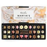 Martins Chocolatier Signature Collection - Set de regalo de chocolate (30 bombones hechos a mano, 15 sabores de chocolate)