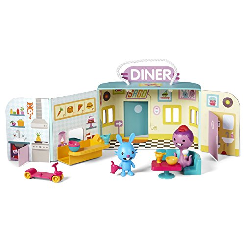 Sago Mini Portable Playset - Jack's Diner, for Ages 3 and Up