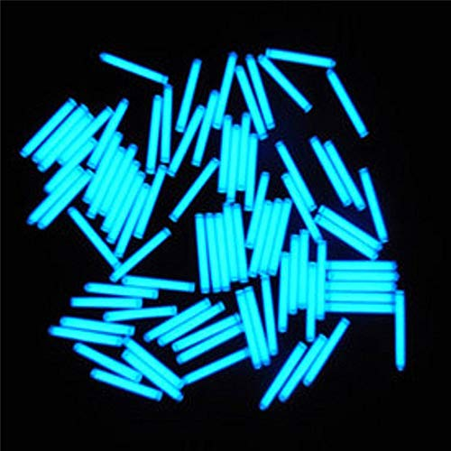 1pcs Trit Vials Tritium Multicolor Self-Luminous 15-Years 3x22.5mm by AdvancedShop (Blue)