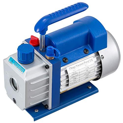 OldFe 220V Unterdruckpumpe Vakuumgeräte Pumpe 3 CFM Vakuumpumpe Unterdruckpumpe 1720 RPM Refrigerant Vacuum Pump