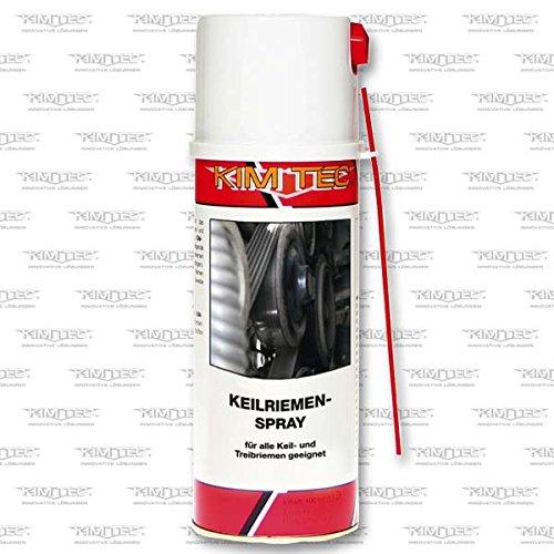 KIM-TEC Keilriemen- Spray 400ml Transparent, für alle Keil- und Treibriemen geeignet