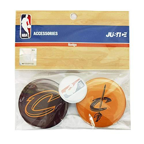 NBA エヌビーエー NBA 缶バッチセット クリーブランド キャバリアーズ NBA32002 Men'sLady'sJr