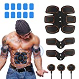 Abs Stimulator Muscle Toner, Portable Muscle Trainer, Abdominal Toning Belt...