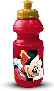 Topolino Mickey Mouse REAL TRADE Set Pranzo PORTAMERENDA con Posate E Borraccia Sport