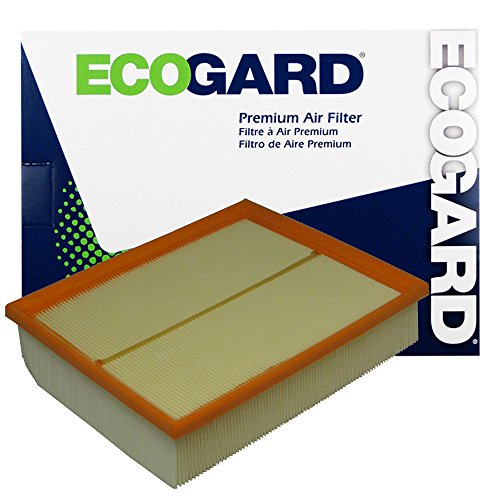 ECOGARD XA7039 Premium Engine Air Filter Fits Audi A4 Quattro 1.8L 1997-2001, A4 Quattro 2.8L 1996-2001, A6 Quattro 2.7L 2000-2004, A6 Quattro 2.8L 1998-2001, Allroad Quattro 2.7L 2001-2005