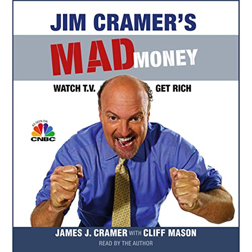Jim Cramer's Mad Money audiobook cover art