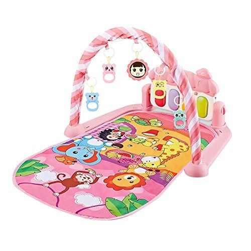 libelyef Baby Playmats, Piano Musical Baby Play Gimnasio Mat Bebé Fitness Y Actividad Música Play Gimnasio Para Bebé Recién Nacido 3 6 12 Meses Niñas Niños
